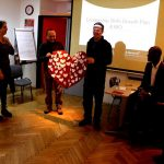 Presentation with heart
