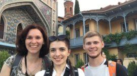 троє учасників української команди