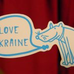 "[en]: animal is speaking ""I love Ukraine"""