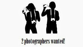 2 photographers wanted!