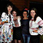 girls in national dress