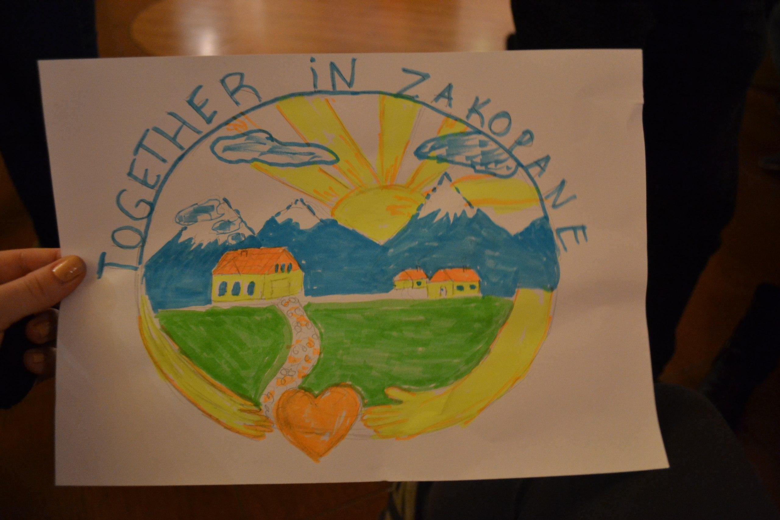 "Homemade logo of ""Together in Zakopane"""