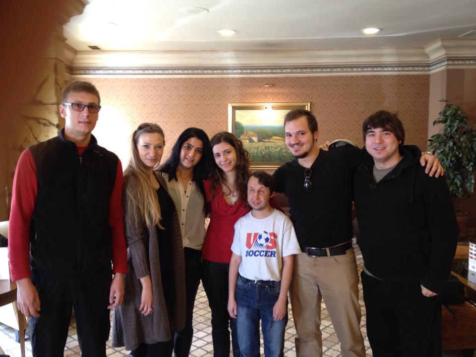 Teoman Cem Katoğlu - Look who we found in Ankara! — разом із Daniel Bolohan, Simona Bolohan та Mykola Pekh.